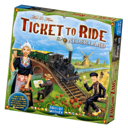 Ticket To Ride Nederland,...