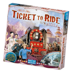 Ticket To Ride Asia,...
