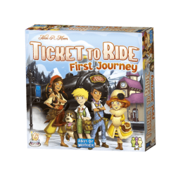 Ticket to Ride, First Journey