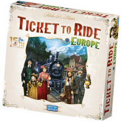 Ticket to Ride Europe 15...
