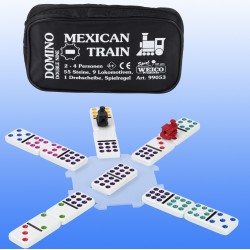 Domino Mexican Train Double Nine
