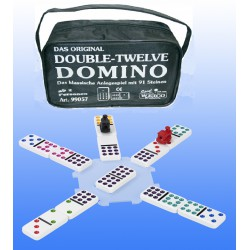 Domino Mexican Train Double Twelve
