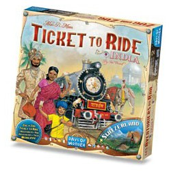 Ticket To Ride INDIA/Switzerland Expansion
