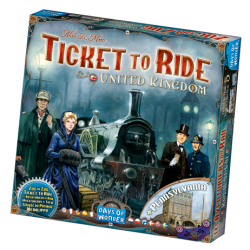 Ticket To Ride UK och Pennsylvania, expansion