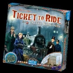 Ticket To Ride UK och Pennsylvania, expansion
