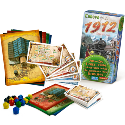 Ticket To Ride Europe 1912