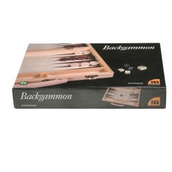 Backgammon i trämosaik